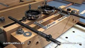 Make A Portable Moxon Vise • 11 • Hardware Kit - YouTube