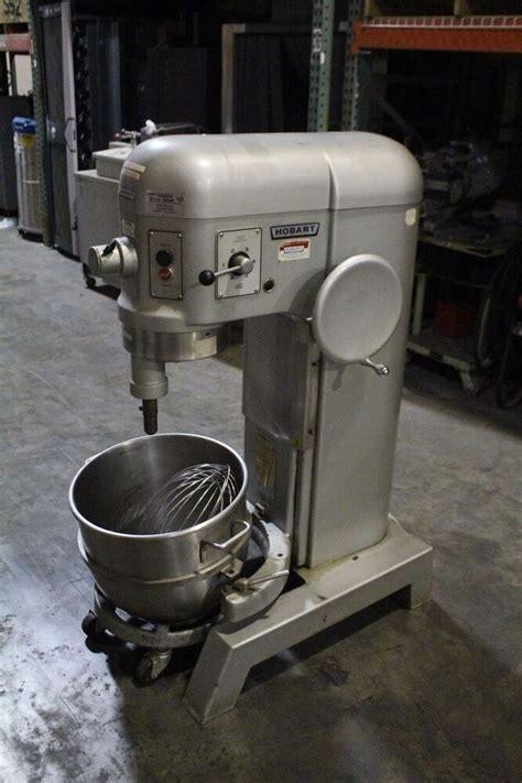 hobart  qt dough mixer  attachment model   ebay