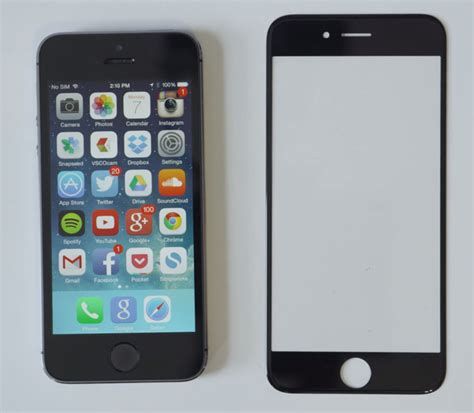 screen for iphone 6 leaked 4 7 inch iphone 6 sapphire screen is strong