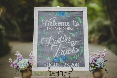 Diy Chalkboard Wedding Signs