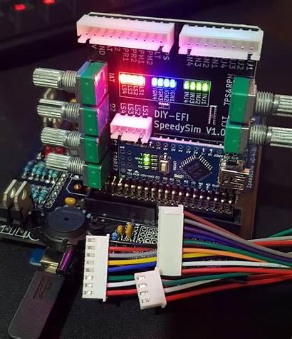 Efi Ecu Speeduino Input Simulator Output Board