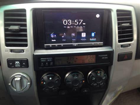 new pioneer appradio 3 installed toyota 4runner forum largest 4runner forum