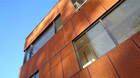 corten flat sheet architectural cladding architectural panel systems