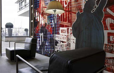 d 233 corer sa chambre avec un papier peint new york