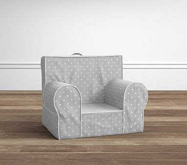 anywhere chair slipcover only lavender gray pin dot my anywhere chair slipcover only