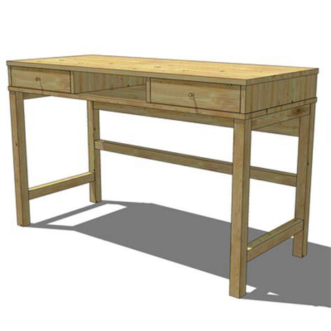 Ikea Desk Top Wood by Ikea Linnarp Desk 3d Model Formfonts 3d Models Textures