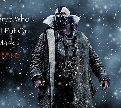 Bane Hardy Tom Quotes Knight Dark