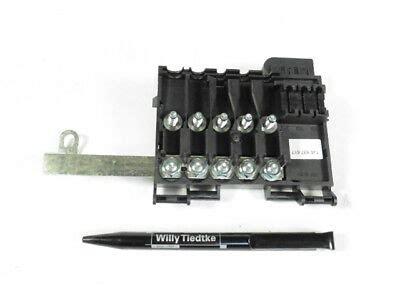 sicherungskasten golf 4 original vw sicherungstr 228 ger batterie sicherungskasten golf 4 bora 1j0937617c eur 63 90