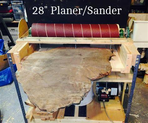 making    wide sanderplaner woodworking