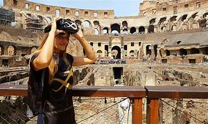 Live Colosseum Guided tour with Virtual Reality | Ancient&Recent Colosseum Tour Rome ...