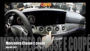 Nouvelle Mercedes Classe E : nouvelle mercedes classe e coup 2017 salon automobile de detroit 2017 youtube ~ Farleysfitness.com Idées de Décoration
