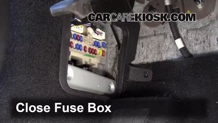 2007 Infiniti Fx35 Fuse Box Location by Interior Fuse Box Location 2006 2010 Infiniti M35 2008