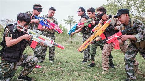Ltt Nerf War  Seal X Comedy Fight Criminal Group