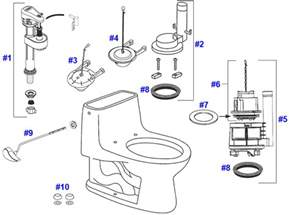 Toto Toilet Replacement Parts