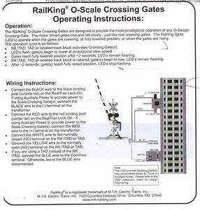 How To Wire Mth Crossing Signals W Gates