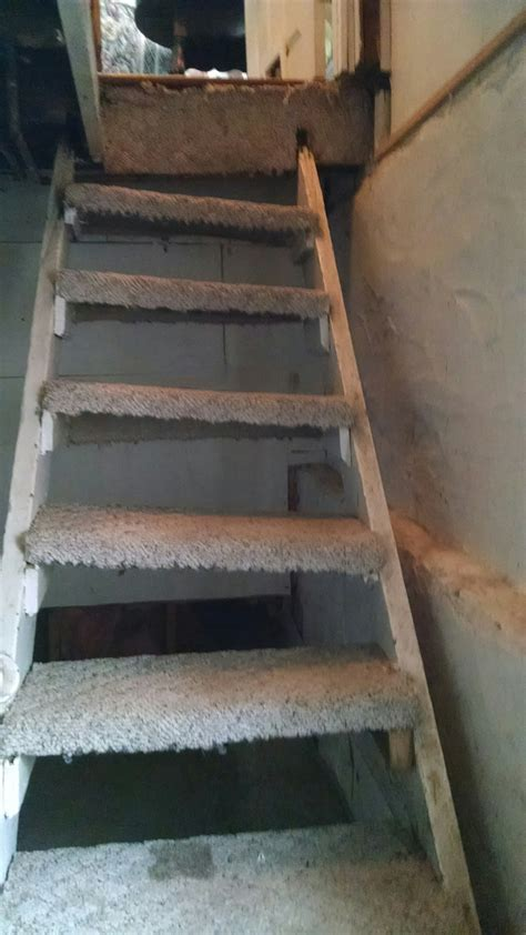 unsafe basement stair repair  cranfordunion county