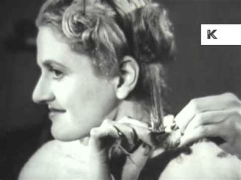 hair permanent styles 1950s uk s hair and routine curls 1950
