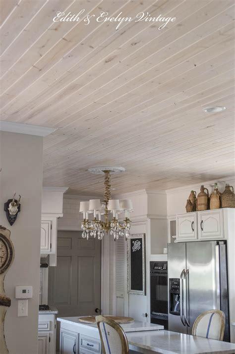 plank  popcorn ceiling