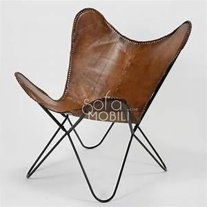 Fauteuil Cuir Design : fauteuil en cuir marron sofamobili ~ Melissatoandfro.com Idées de Décoration