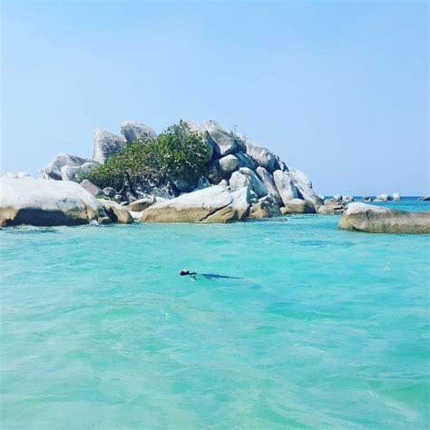 pulau lengkuas belitung pulau eksotis dengan mercusuar