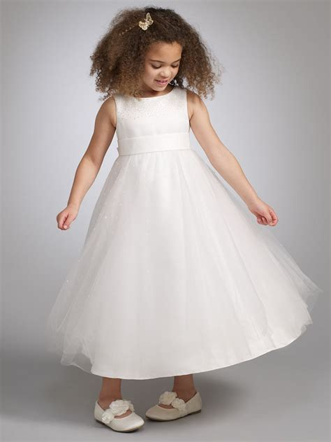 john lewis partners girls fairy bridesmaid dress ivory