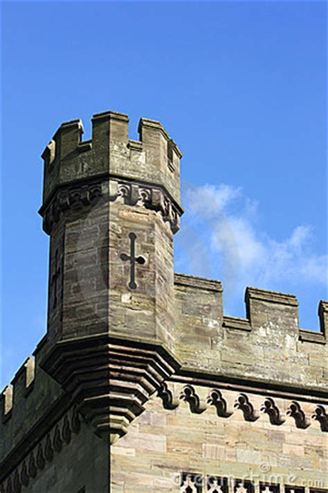 castle turret royalty  stock  image