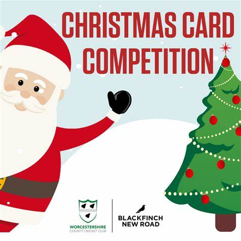 Here we are once again! CHRISTMAS CARD COMPETITION 2019 - Worcestershire CCC