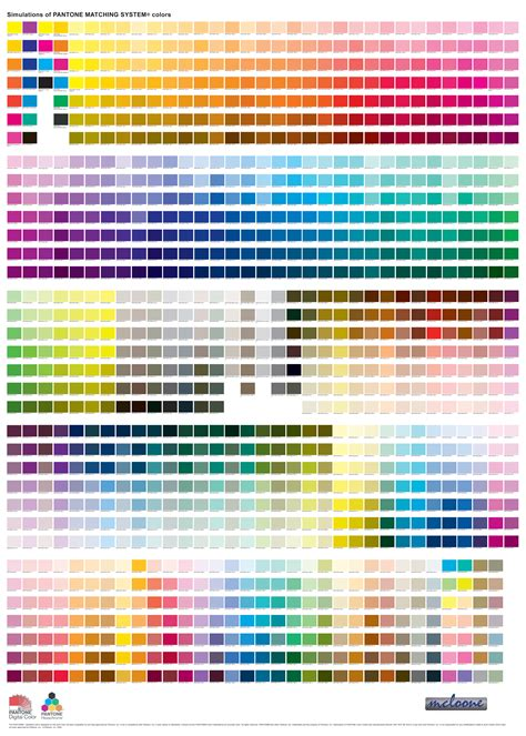 pantone color chart pantone color book pdf farmacina ayucar