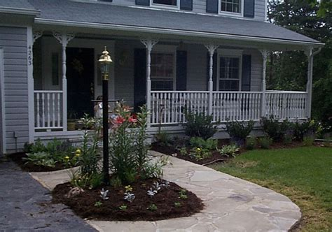 front house patio ideas front porch ideas style for ranch home