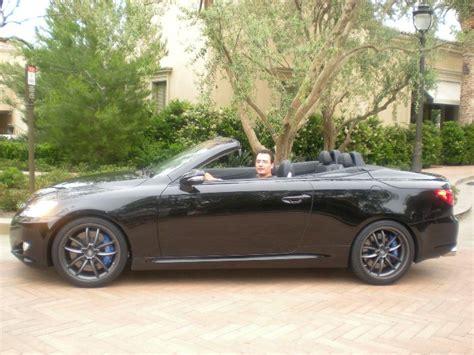 Lexus Is350 Convertible Test Drive