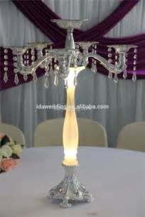 led wedding chandelier centerpiece artificial