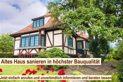 Altes Haus Sanieren Berlin  Sanierung Modernisierung