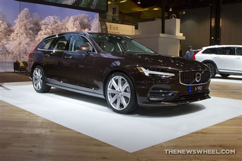 2018 Volvo V90 Wagon Overview  The News Wheel