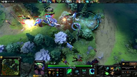 dota 2 support gameplay dota 2 underlord support gameplay 5 5 multiplayer youtube