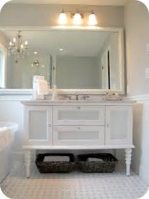 white vanity bathroom ideas my house of giggles white and grey bathroom renovation makeover marble hex tile etc
