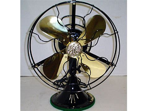 antique desk fan restoration 1927c ge 12 quot oscillating antique desk fan