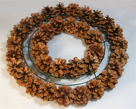 pine cone wreath directions another bright idea pine cone wreaths a tutorial