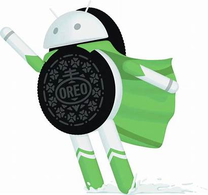 Oreo Android Clipart Transparent Google Versions Pie