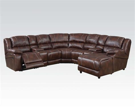 brown leather chaise sofa 7 piece sectional sofa brown faux leather sofa