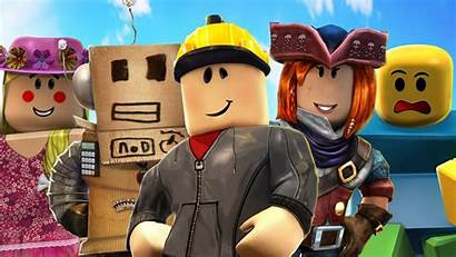 Roblox Characters Background Sky Games Wallpapers 1600