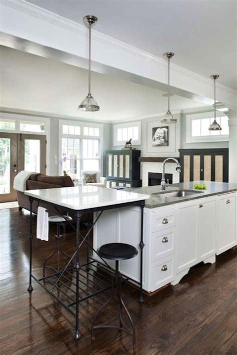 kitchen island marble top marble top kitchen island design ideas
