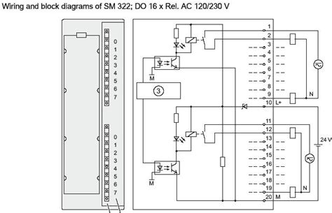 Siemen Plc Wiring Diagram by How To Size Up Siemens S7 300 Relay Output Module Plcs