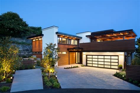 Western View Home Design Ltd by West Coast Modern Renovation Contemporary Exterior