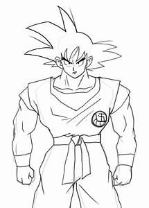 Pleasant Design How To Draw Goku Full Body From Dragon