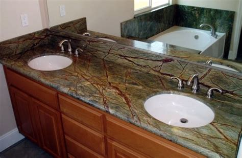 rainforests granite and green on