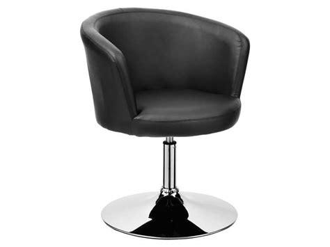 fauteuil pivotant galaxy coloris noir conforama je le