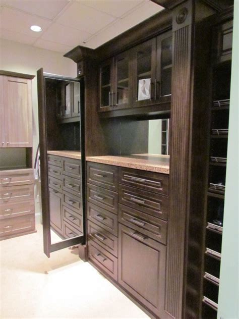 master closets with pull out mirror traditional closet