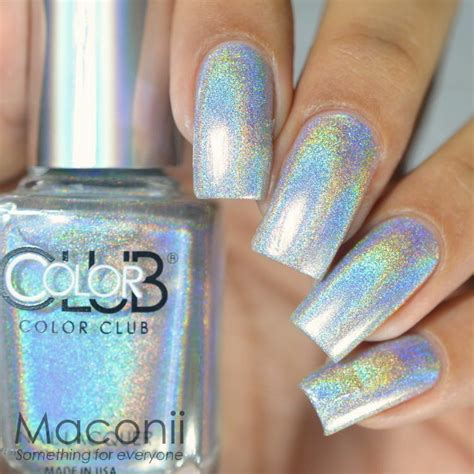 color club harp   halo hues silver holographic