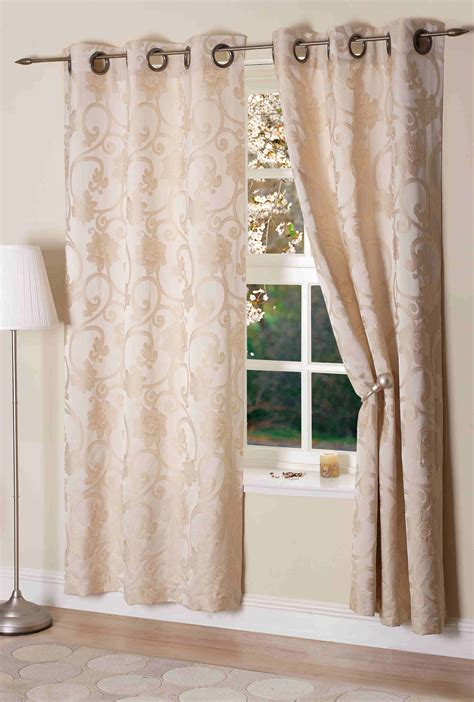 hanover ivory eyelet curtains ready made curtains