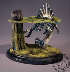 scale spinosaurus dinosaur model kit  built